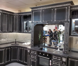 Кухня МДФ пленка классика