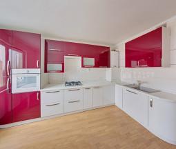 Кухня Красная в глянце