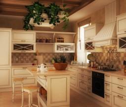 Кухня Ланди винтаж