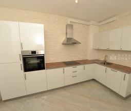 Кухня Парадиз белая угловая