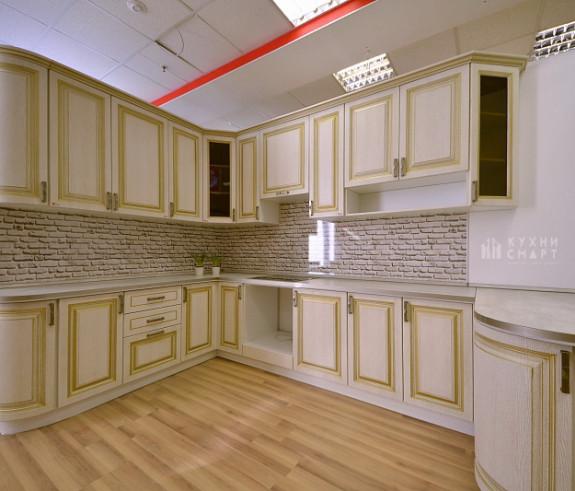 Кухня Патина с золотом