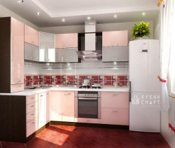 Кухня Мари Розовая