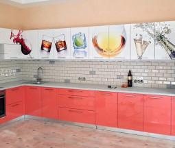 Кухня Розовый Бар